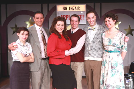 photo of Miner's Alley Playhouse - It's A Wonderful Life cast 2013